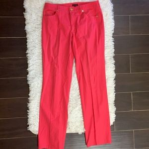 Escada Coral Stretch Straight Leg Pant Jeans